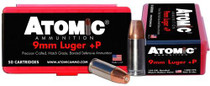 Atomic Defense 9mm 124 gr, Bonded MHP 50rd Box