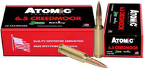 Atomic Match 6.5 Creedmoor 142 gr, MHP, 20rd/Box