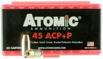 Atomic Defense 45 ACP +P 185 gr, Bonded MHP 50rd/Box