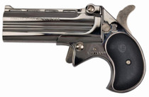 "Cobra Long Bore .38 Special, 3.5"", 2rd, Chrome Finish, Black Grips"
