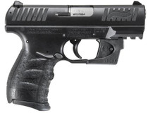 "Walther CCP 9MM 3.5"" Barrel, Viridian Red Laser 8rd Mag"