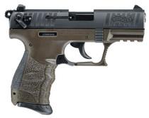 "Walther P22 QD 22LR 3.42"" Barrel Military Green Frame"