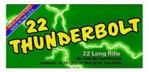 Remington 22LR 40gr Thunderbolt, Round Nose, 50rd Box