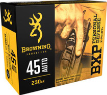 Browning Ammo BXP X-Point 45 ACP 230gr, HP 20rd/Box