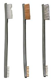 Otis 3 Pack AP Brushes (Nylon/Bronze/Stainless Steel)