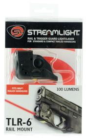 Streamlight TLR-6 Laser/Light Combo 100 Lumens 1/3N (2) Black