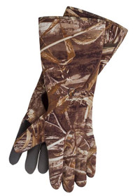 Tanglefree Gloves Gauntlet Elbow-Length Neoprene Standard Realtree Max