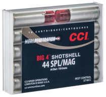 CCI Handgun Shotshells .44 Mag/.44 Spec Shot Size 4 110gr 10rd/Box