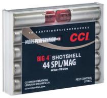 CCI Handgun Shotshells .44 Mag/.44 Spec Shot Size 4 110gr 10rd/Box