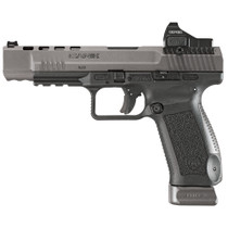 "Canik TP9SFx 9mm, 5.2"" Match Bbl, Tungsten Gray, 2x20rd Mags, Vortex Viper Sight"