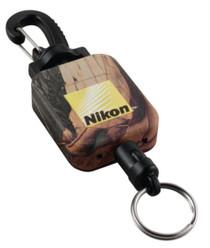 Nikon Optics Retractable Rangefinder/Binocular Tether Realtree Hardwoods Green HD Camouflage with Nikon Logo