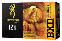 "Browning BXD Extra Distance Turkey 12 Ga, 3.5"", 1-7/8oz, 4 Shot, 10rd/Box"