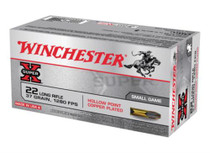 Winchester Super-X 22 LR 37gr, Lead Hollow Point, 50rd/box