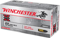 Winchester Super-X 22 LR 40gr, Lead Round Nose, 50rd/Box