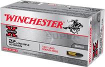 Winchester Super-X 22 LR 40gr, Lead Round Nose, 50rd Box