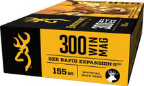Browning BXR Rapid Expansion 300 Win Mag 155gr, Matrix Tip, 20rd/Box