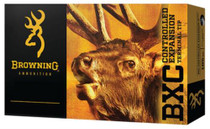 Browning BXC Controlled Expansion 30-06 Springfield 185gr, Terminal Tip, 20rd Box