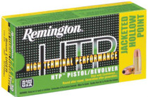 Remington HTP .40 SW 180gr, Jacketed Hollow Point 50rd/Box