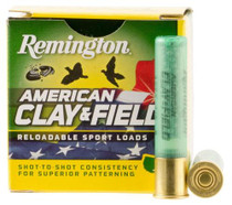 "Remington American Clay & Field .410 Ga, 2.5"", 1/2 oz, 8 Shot, 25rd/Box"
