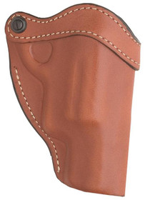 "Hunter Belt Holster Opentop Taurus Judge/PD, Fits up to 2"" Belts, Brown, Leather"