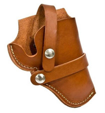 "Hunter Belt Holster SW500 8 3/8"" Barrel, Brown, Leather"