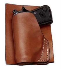 Hunter Pocket Holster LCP 380, Small Brown, Leather