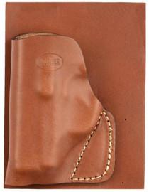 Hunter Pocket Holster Kahr P380 Pocket Brown, Leather