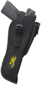 Browning Buckmark Pistol Holster with Magazine Pouch Black with Buck Mark Logo