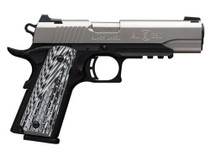 Browning 1911-380 Black Label Pro with Rail Single 380 ACP, SS, Rail