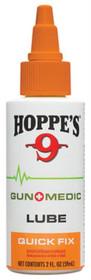 Hoppe's Gun Medic Lube - Quick Fix, Liquid, 2oz, Bottle, 12-Pack