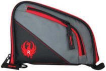 Allen Company Inc Ruger Tucson Handgun Cases Measures 8x5.75 Inches Gray/Red