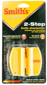 Smiths Products 2 Step Sharpener Tungsten Carbide and Ceramic Fine, Coarse