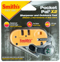 Smiths Products Pocket Pal Sharpener and Outdoor Tool Tungsten Carbide an