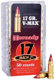 Hornady Varmint Express 17 Mach 2 17gr, V-Max 50rd Box