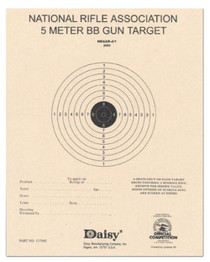 Daisy Air Rifle Paper Target 50 Pack