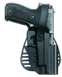 Uncle Mike's Kydex Paddle Holster 12 Black Kydex