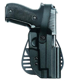 Uncle Mike's Kydex Paddle Holster 20 Black Kydex