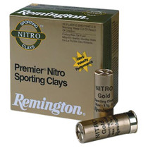 "Remington Lead Premier STS Nitro Sporting Clays 12 Ga, 2.75"", 1oz, 7.5 Shot, 25rd/Box"
