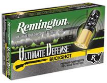"Remington Ultimate Home Defense Shotshell Loads Lead Buckshot 12 Ga 2.75"" 1200 FPS 8 Pellets 00 Buckshot"