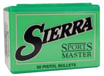 Sierra Sports Master Handgun .50 Caliber .500 400gr, JSP, 50/Box