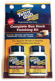 Tetra Finishing Kit Rich Natural Walnut Finishing Kit 3 LB