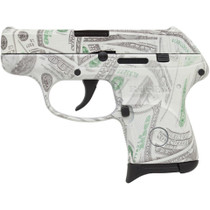 "Ruger LCP 380acp 2.75"" Barrel $100 Bill Glowing Camo 6rd Mag"