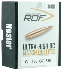 Nosler RDF Match 6.5mm .264 140gr, Hollow Point Boat Tail 100 Box