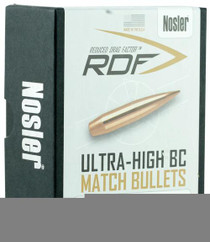 Nosler RDF Match 22 Caliber .224 70gr, Hollow Point Boat Tail 100 Box