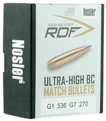 Nosler RDF Match 30 Caliber .308 175gr, Hollow Point Boat Tail 100 Box