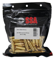 Nosler SSA Unprimed Brass By Nosler .243 Winchester 100/Box
