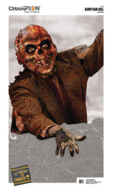 Champion Zombie VisiColor Targets Bulk Pack 12x18 Inches Boneyard Bill 100 Per Pack