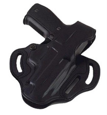 Galco COP 3 Slot 484B Fits Belts up to 1.75 Black Leather