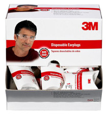 3M Peltor Ear Plug Disposable Earplugs 29 dB 50Pk