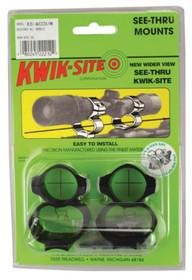 Kwik-Site See-Thru Mounts Savage AccuTrigger Matte Black
